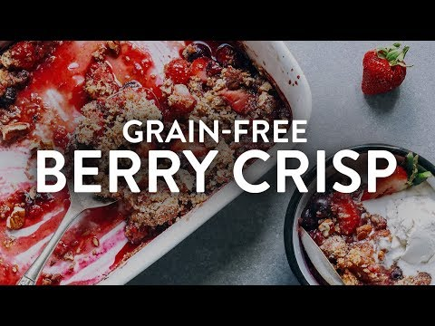 Grain-Free Berry Crisp | Minimalist Baker Recipes