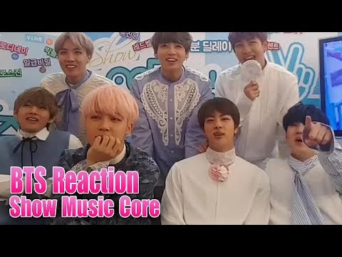 BTS Reaction To Not Today & Spring Day Show Music Core ♫♫♫ HD Fancam
