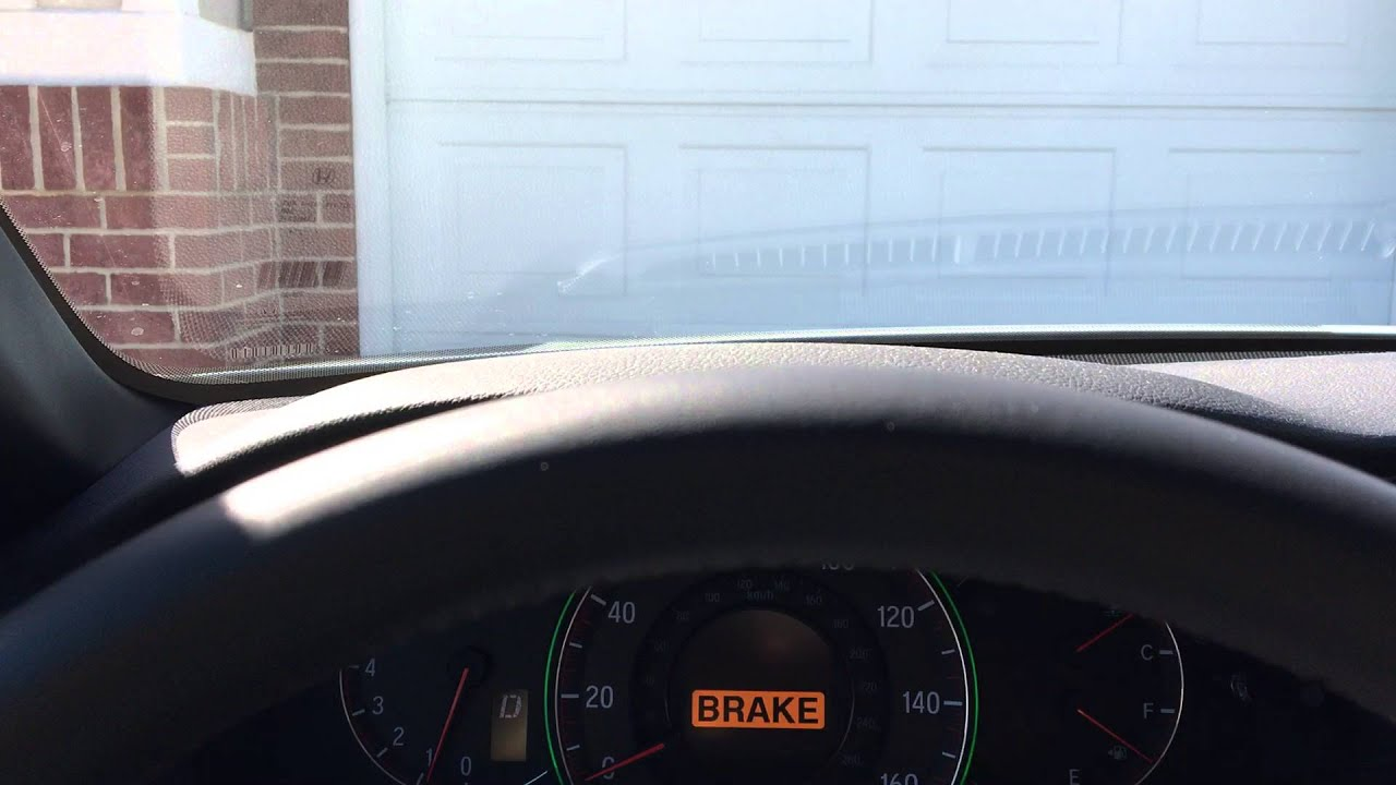 Honda Sensing Forward Collision Warning Avoid Crashing