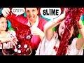 How to make BLOOD SLIME * DIY HALLOWEEN Bloody Slime for KIDS