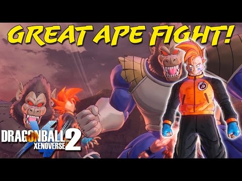 Great Ape Nappa & Vegeta?! | Saiyan Saga | Dragon Ball Xenoverse 2 Human Playthrough
