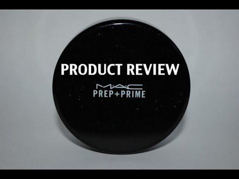 Mac Prep Prime Translucent Finishing Powder Product Review