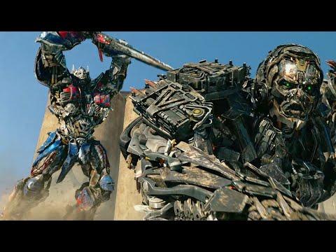 """Оптимус Прайм против Локдауна  - """"Трансформеры 4: Эпоха истребления"""" отрывок из фильма"""