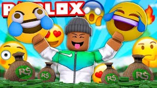 I made $10,000,000,000,000 with my EMOJI FRIENDS! (Roblox)