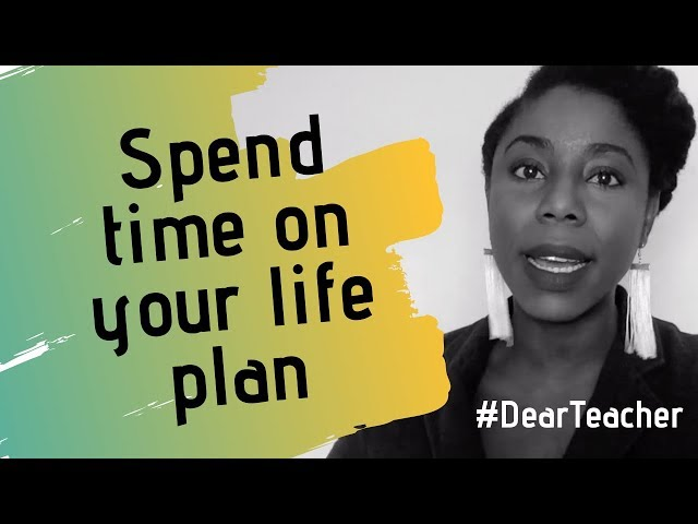 Spend Time on Your Life Plan