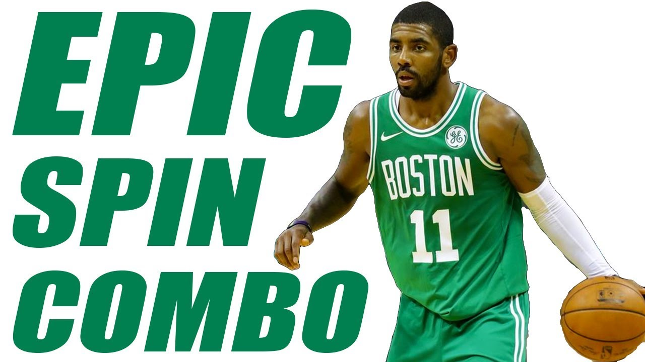 Kyrie Irving Shammgod Spin Move Combo! How To Break Ankles. Get Handles  Basketball