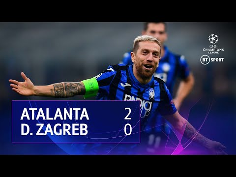 Atalanta vs Dinamo Zagreb (2-0) | UEFA Champions League Highlights