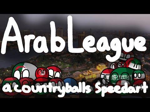 Arab states unite! | Arab League | Countryballs Speedart #21