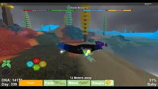 Gal baro (baby) Animations and sounds Roblox Dino Simulator