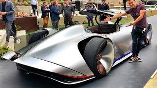 1937 г., 600 сил, 395 км/ч!!! + ПЕРВЫЙ ОБЗОР на Мерс EQ SILVER ARROW! Топовый концепт Mercedes-Benz.