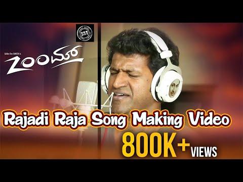 Rajadi Raja Song Making || Zoom Movie | Ganesh, Radhika Pandit | Puneeth Rajkumar
