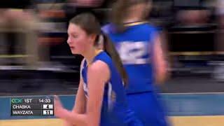Chaska vs. Wayzata Girls High School Basketball