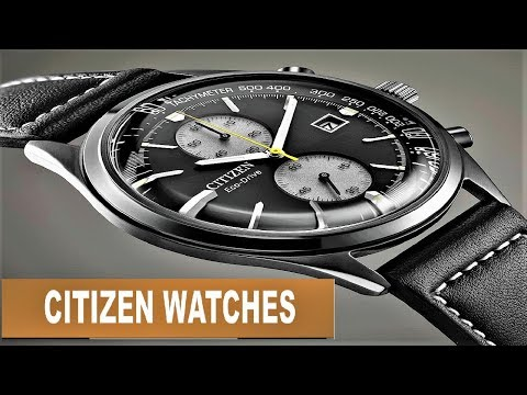 Best Stylish Citizen Watches 2020 | Top 10 Citizen Watches To Buy In 2020!