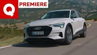 La nuova Audi e-tron vista da vicino