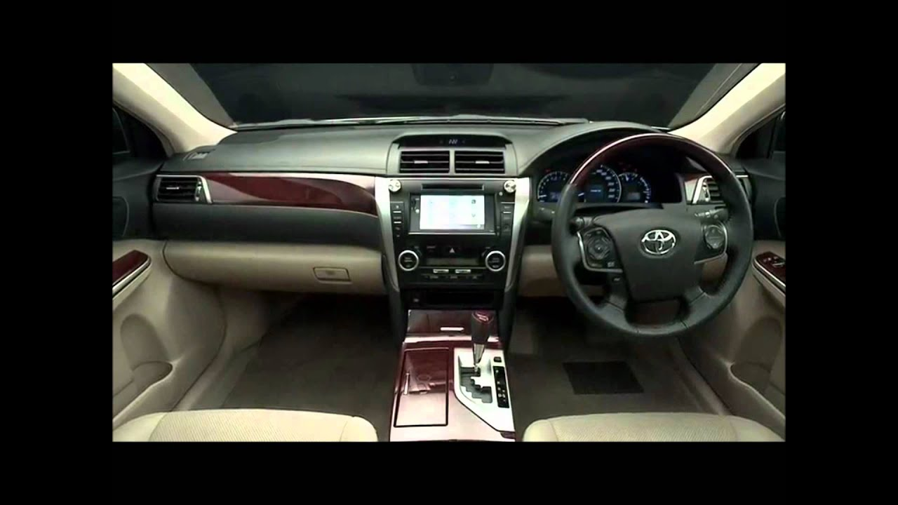 All New Toyota Camry Malaysia Interior Grand Avanza G 2018 2012 Youtube