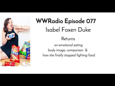 TALKING BODY with Emotional Eating Expert Isabel Foxen Duke -- WWRadio episode 077