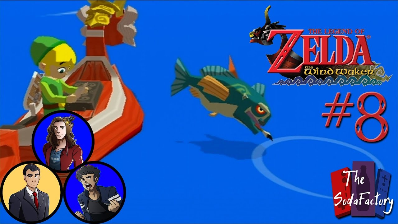 The Legend of Zelda: Wind Waker - The Map Fish - #8 - The Soda ... on