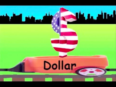 Learn Currency Symbol Train Learning Currency Symbol For Kids