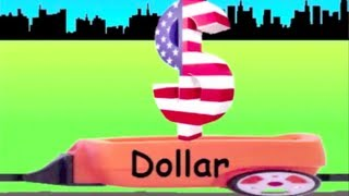 Learn Currency Symbol Train - learning currency symbol for kids