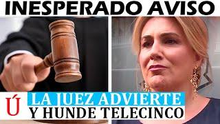 Jueza HUNDE a Carlota Corredera y le lanza este serio aviso por Rocío Carrasco y Antonio David