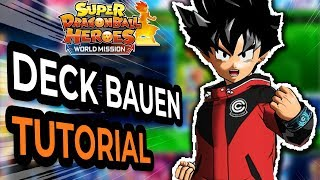 Deck Aufbauen Tutorial in Super Dragon Ball Heroes - Deutsch