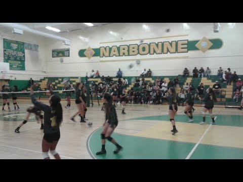 San Pedro High Girls Volleyball vs. Narbonne (9-26-2017)