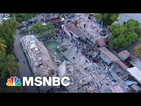 Over 1200 Dead After Haiti Earthquake, Bracing For Tropical Storm Grace