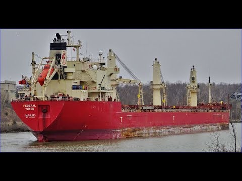 Ship FEDERAL YUKON on Welland Canal