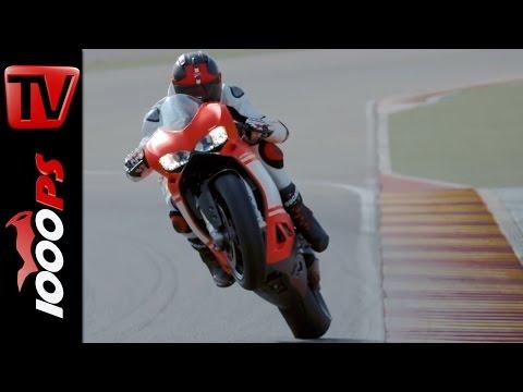 Ducati 1299 Superleggera 2017 - Riding Scenes - Sound
