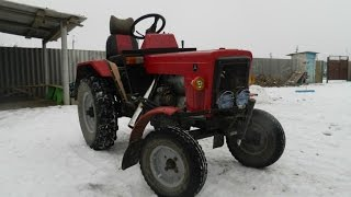 самодельный мини беларус копия трактора беларус