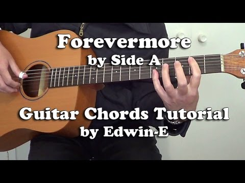 Forevermore by Side A - Guitar Chords Tutorial Cover - YouTube