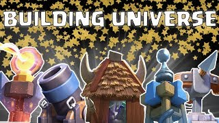 Clash Royale Building Universe || Which is the Best Building ||