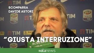 "Morte Astori, Ferrero: ""Ieri ha vinto il dolore"""