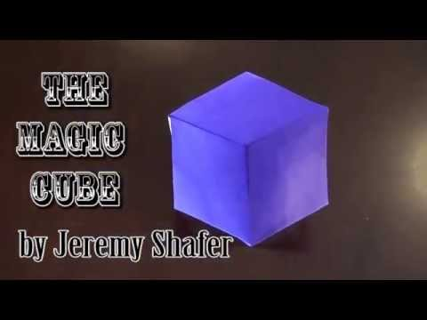 Papercraft Fold an Origami Magic Cube! Designed by Jeremy Shafer