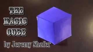 Fold an Origami Magic Cube! Designed by Jeremy Shafer