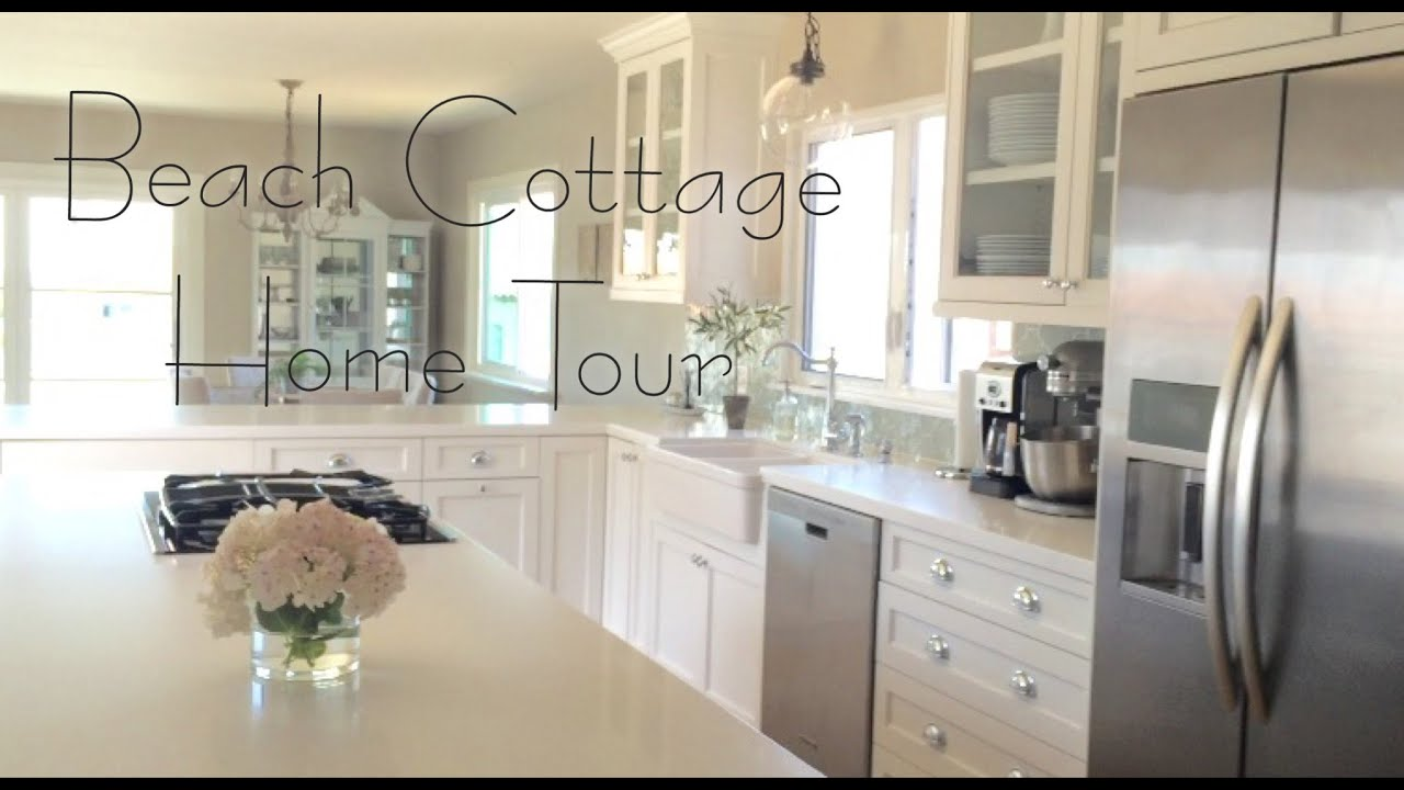 Beach Cottage Home Tour // Before & After! - YouTube