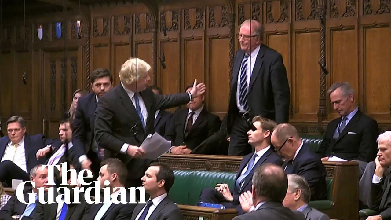 'What's his big idea?': Sir Roger Gale lambasts Boris Johnson during speech –  video