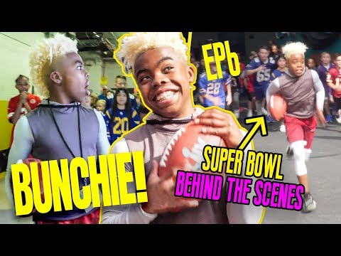 13 Year Old Prodigy Bunchie Young Is Ready To STAR In The SUPER BOWL! Inside Look At His COMMERCIAL!