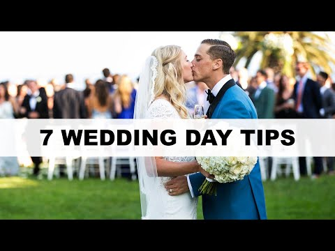 7 wedding day photography tips…that have NOTHING to do with taking photos!
