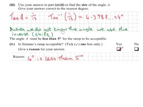 JC OL maths 2016 paper 2 (Q11)