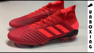 ... release info on 67557 b1f87 adidas Predator 19.1 FGAG Initiator -  Action RedCore Black ... 216967c0802