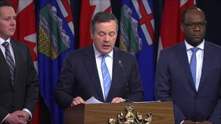 Premier Kenney wildfire update - May 21 at 8:30 am