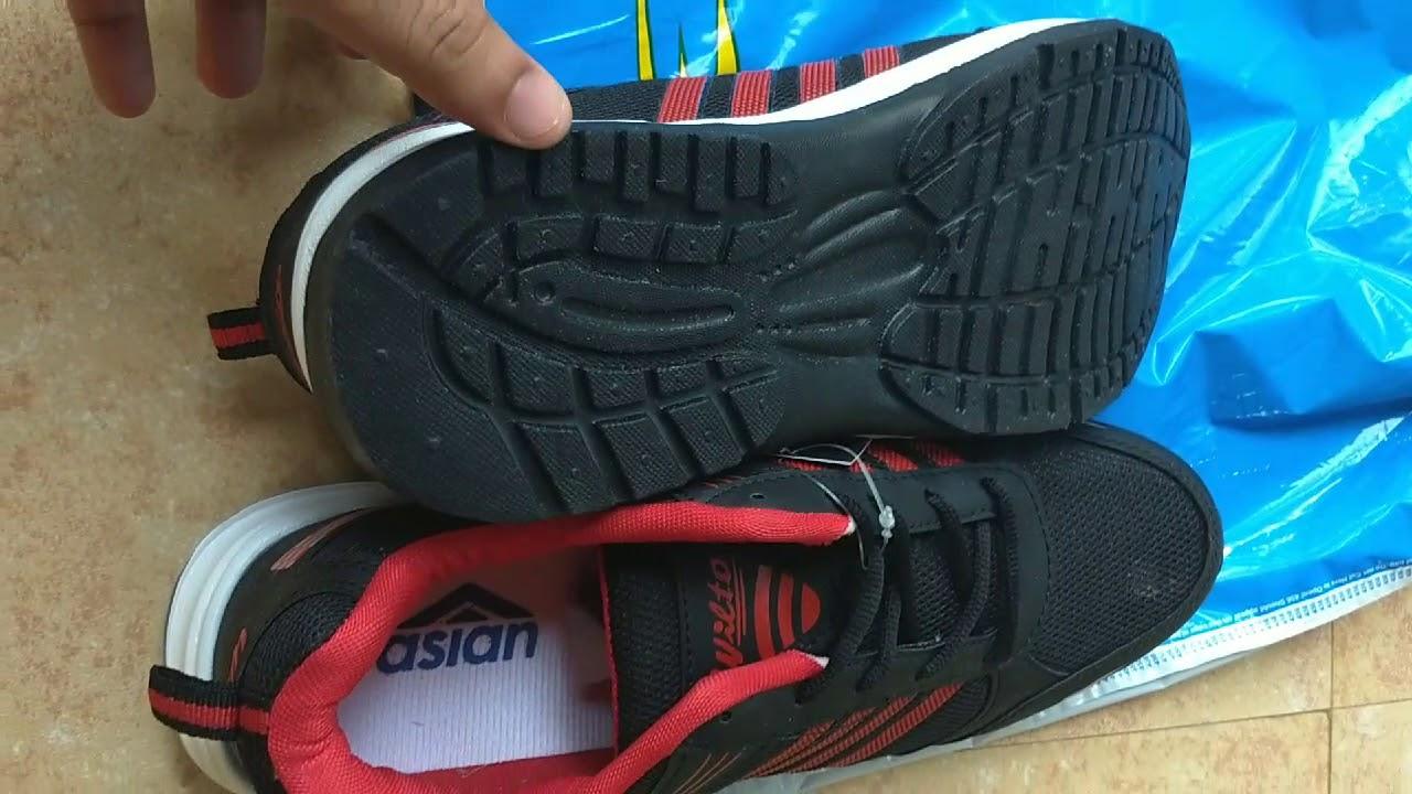 2d146311effdae Asian Sports Shoes - WNDR 13 - Unboxing - YouTube