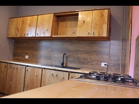 Ч.2 Кухня своими руками Столешница для кухни Кухня за 165 долларов