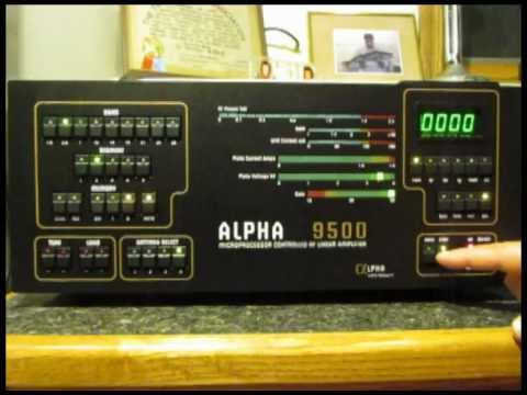 alpha 9500 amplifier youtube. Black Bedroom Furniture Sets. Home Design Ideas
