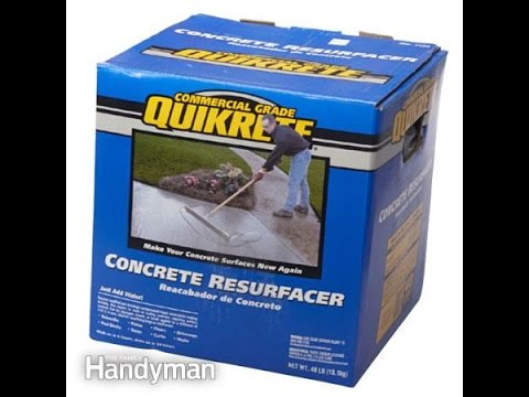 Quikrete Concrete Resurfacer-my experience