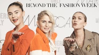 Beyond the Fashion Week mit Stefanie Giesinger, Caro Daur und Nina Suess
