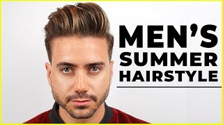 MEN'S SUMMER HAIRSTYLE 2018 | Best Men's Haircut Highlights | ALEX COSTA