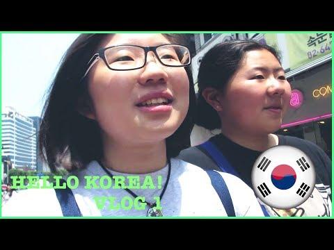 HELLO KOREA!!   Korea Trip VLOG 1