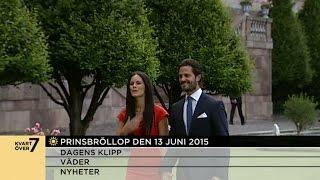 Så blir Carl Philip och Sofias bröllop - Nyhetsmorgon (TV4)